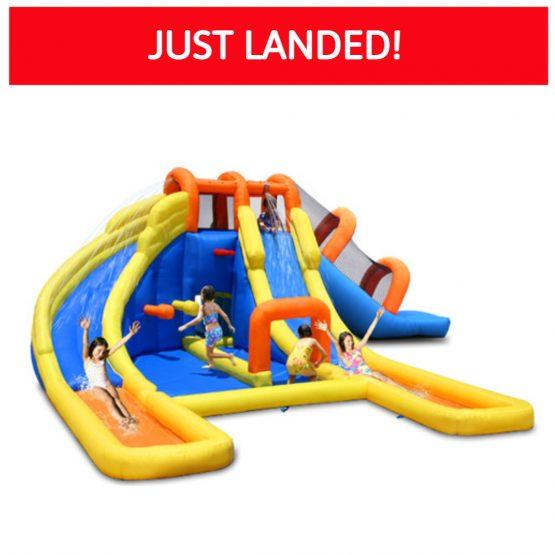 Monster Park Inflatable Water Slide – Wet & Dry