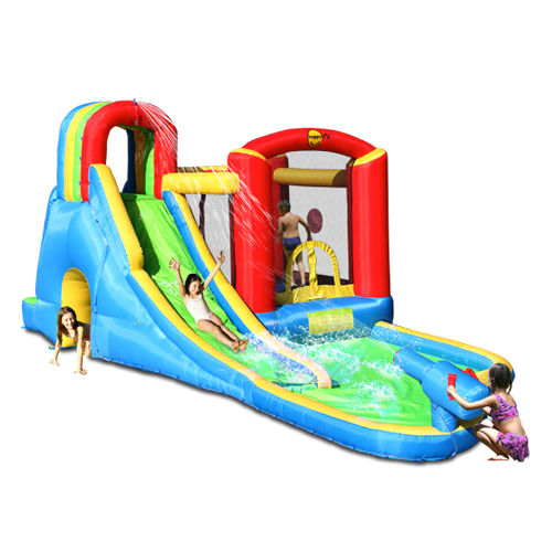 Super Fun Center Wet & Dry Water Slide