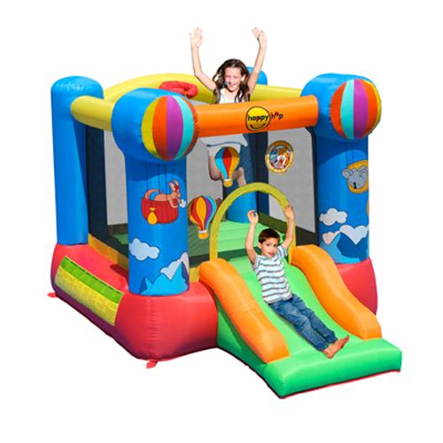 Hot Air Balloon Slide & Hoop Bouncer