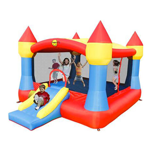 Super Jumping Castle with Sun Cover