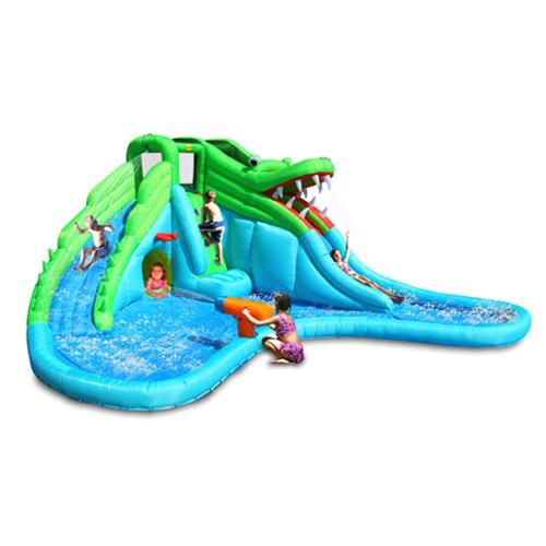Crickey Crocodile Wet & Dry Water Slide