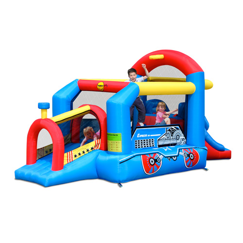 Bouncy Train Jumping Castle