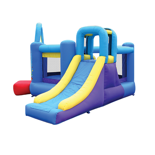 Pop Star Bounce House with Slide