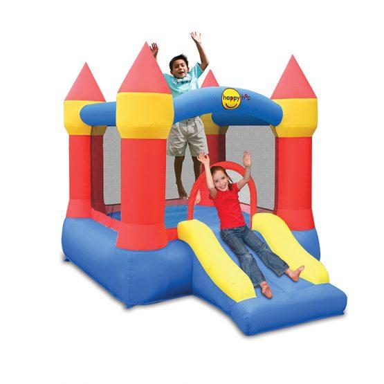 Jumping Castle with Slide & Hoop