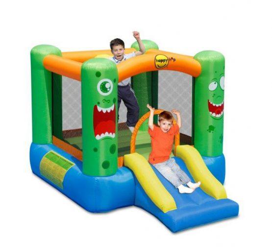 Monster Slide and Hoop Bouncer