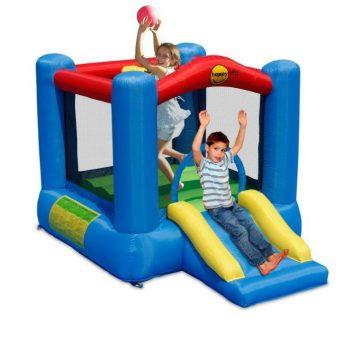 Slide and Hoop Bouncy Castle