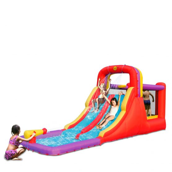 Mini Water Park with Double Slides