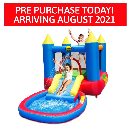 Bouncy Castle With Pool & Slide